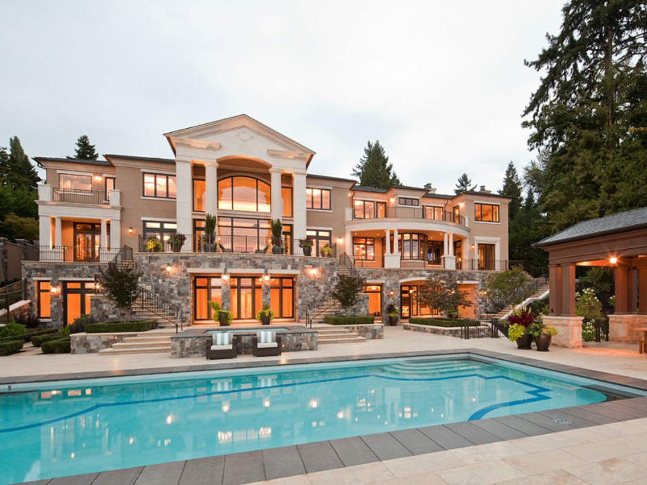 million dollar house